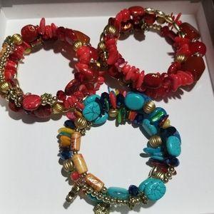 """Bracelets Wrap Around """"Stacks"""""""